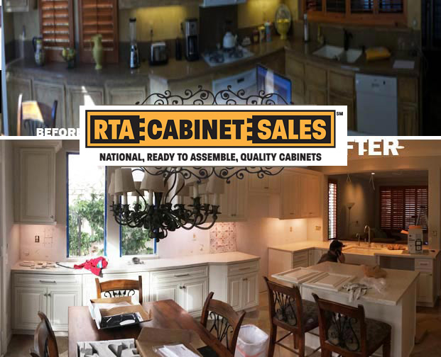 Long beach kitchen cabinets granite countertops remodel RTA Cabinet Sales