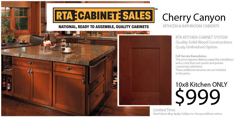 Cabinets Starting at only $999 Cabinets Only